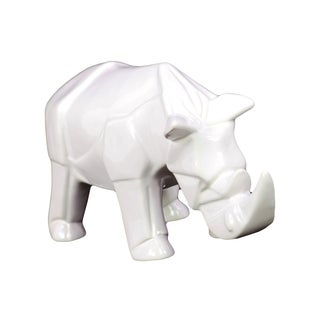 Ceramic Rhino Decoration