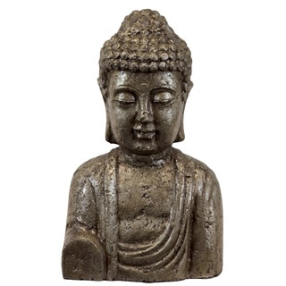 Ceramic Gold Buddha