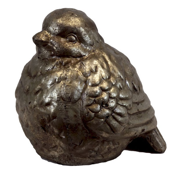 Ceramic Small Gold Bird