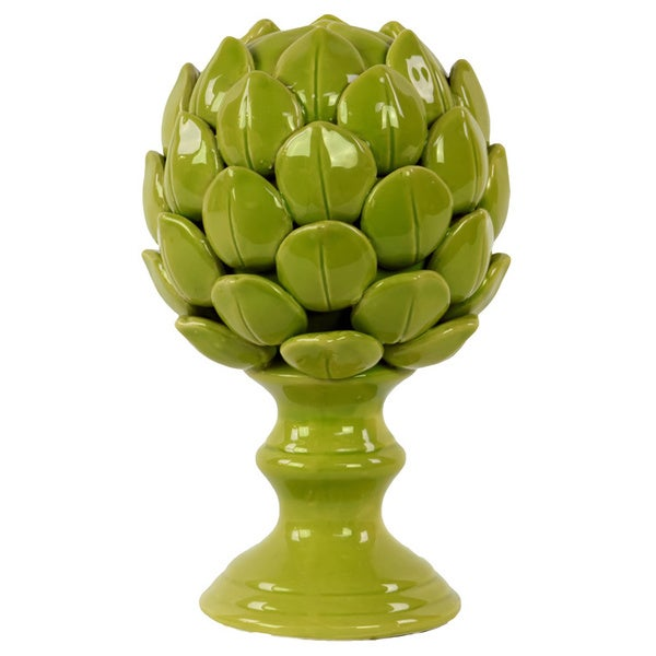 Small Porcelain Artichoke Green
