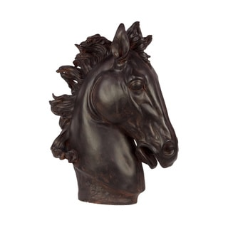 Resin Horse Head Statue