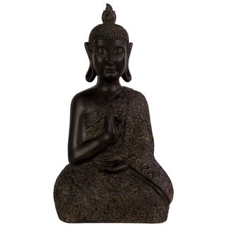 Urban Trends Brown Resin Buddha Statue
