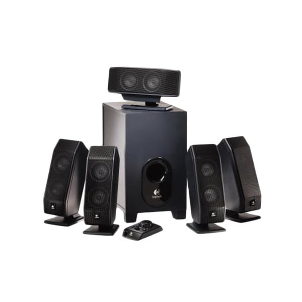 Logitech X-540 5.1 Speaker System - 70 W RMS
