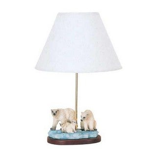 Cal Lighting Polar Bear Table Lamp