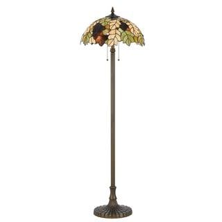 Cal Lighting Tiffany Floor Lamp