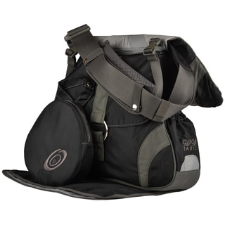 Black Sidekick Shift Diaper Bag and Baby Carrier