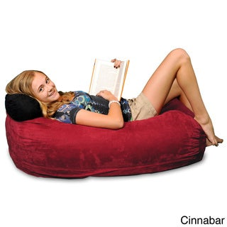 Theater Sack Kids Bean Bag Lounger in Plush Microsuede