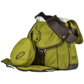 Green Sidekick Deluxe Diaper Bag and Baby Carrier