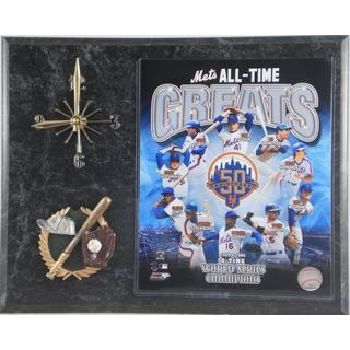 MLB New York Mets 'All Time Greats' Clock