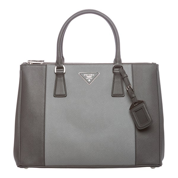 prada bi-color easy shoulder bag