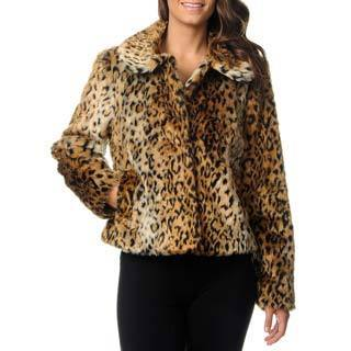 Excelled Women's Animal Print Jacket