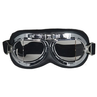 GLX Aviator and Cruiser Riding Goggles Clear Lens