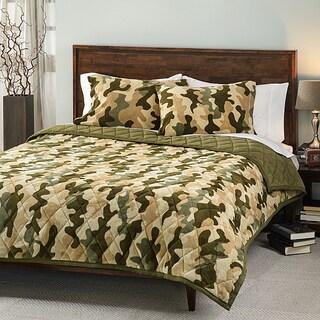 Camouflage 3-piece Comforter Set