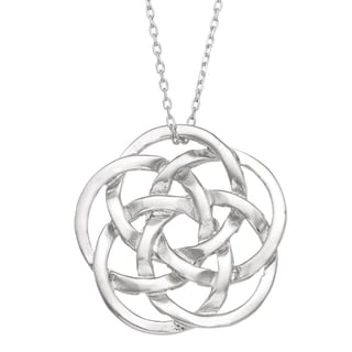 Gioelli Michelle Lee Sterling Silver Celtic Knot Necklace