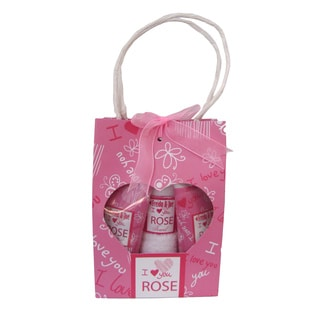 I Love You Rose Bath Gift Set