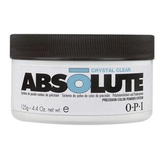 OPI Crystal Clear Absolute 4.4-ounce Acrylic Powder