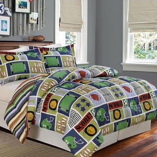 Reversible Go Team Comforter