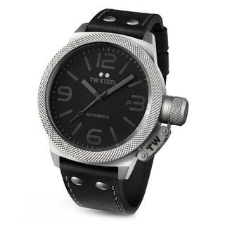 Men's Canteen Black Stainless Steel Watch