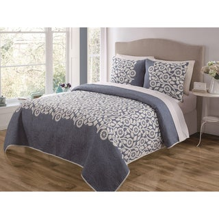 Sundance 3-piece Reversible Quilt Set