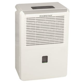 EdgeStar 50-pint White Energy Star Portable Dehumidifier