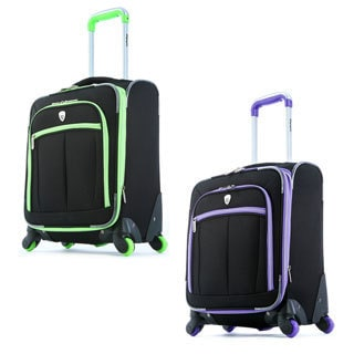 Olympia O-Tron 18-inch Expandable Carry-on Spinner Upright Suitcase