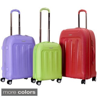 CalPak 'Plaza' 3-piece Lightweight Polypropylene Hardside Spinner Luggage Set