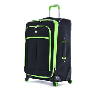 Olympia O-Tron 22-inch Expandable Carry-on Spinner Upright Suitcase