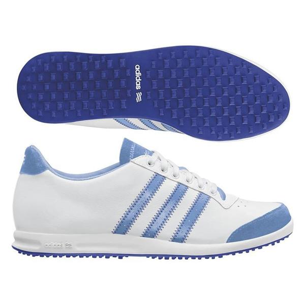 Adidas Women's Adicross White/ Royal Blue Golf Shoes