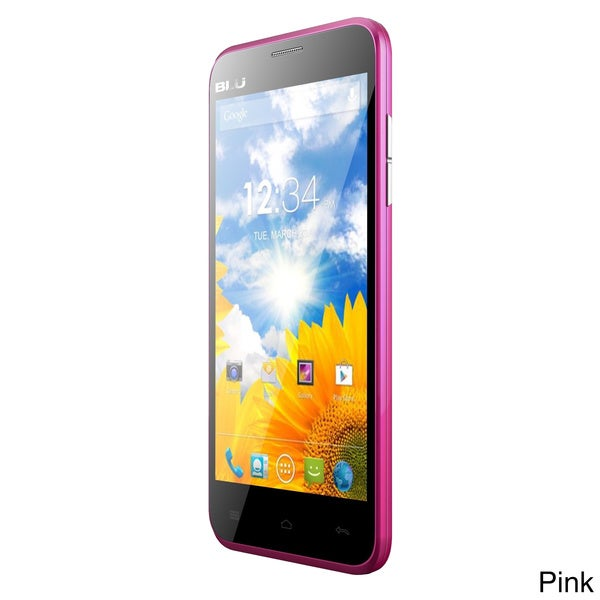 BLU Dash 5.0 GSM Unlocked Dual-SIM Android Phone