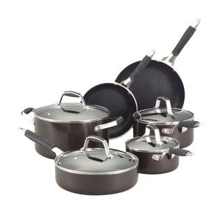 Guy Fieri Graphite 10-piece Nonstick Cookware Set