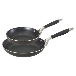 Guy Fieri Graphite Finish Aluminum Nonstick Fry Pans (Set of 2)