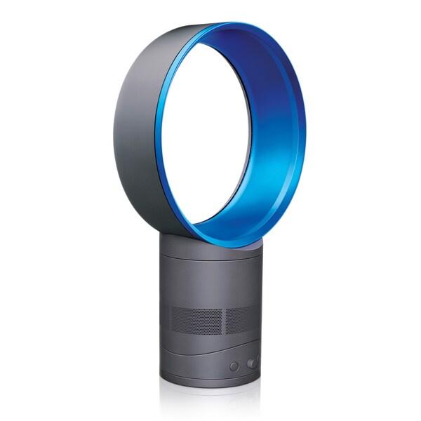 Dyson AM01 Air Multiplier Iron/ Blue Table Fan (Refurbished)