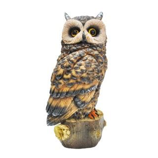 Kelkay Resin-stone Owl Statue