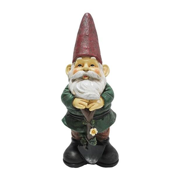 Gardener Gnome Resin-stone Statue