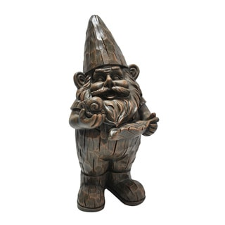 Woodland Forest Gnome Statue