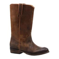 Women's Bronx Tube U Lar Mid Brown Washed Suede