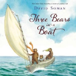 Three Bears in a Boat (Hardcover)