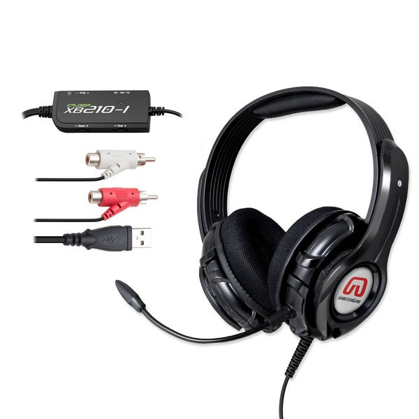 GamesterGear Cruiser XB210 (((Rumble))) Effect Gaming Headset 11648873