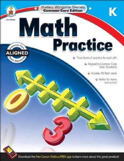 Math Practice Kindergarten