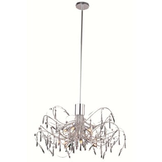 Christopher Knight Home Grandcour 10-light Royal Cut Crystal and Chrome Pendant