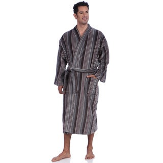 Majestic Men's Fancy Terry Velour Robes