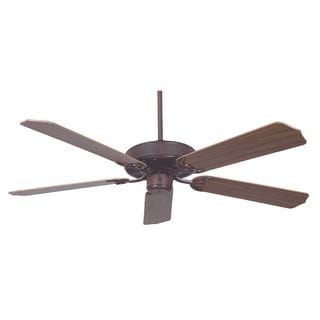 52-inch Rubbed Bronze Heritage Ceiling Fan