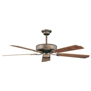 California Home 2-light Oil Rubbed Bronze 52-inch Ceiling Fan