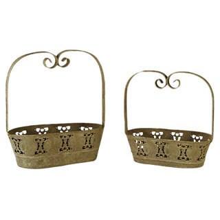 Metal Baskets (Set of 2)