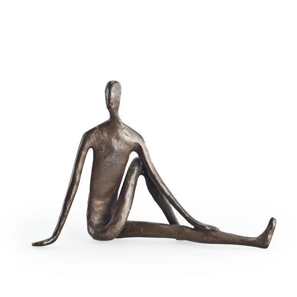 Yoga Twist Bonze Sculpture