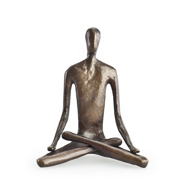 Yoga Lotus Bonze Sculpture