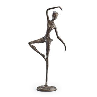 Standing Ballerina Bronze Sculpture