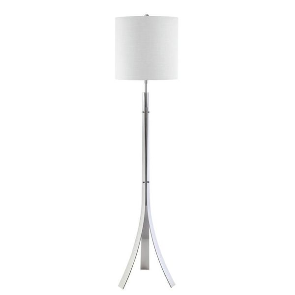 Polished Chrome Empire Floor Lamp