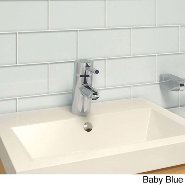 Large Subway Tile Kitchen Backsplash: Subway Tiles (Pack Of 32)