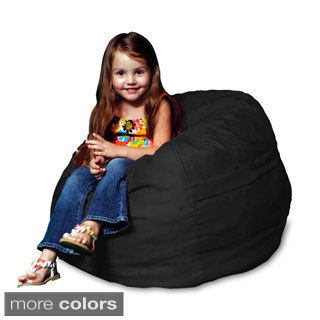Theater Sack Kids Mini Sack Bean Bag Chair in Plush Microsuede